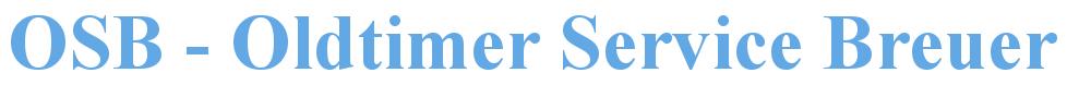 OSB - Oldtimer Service Breuer